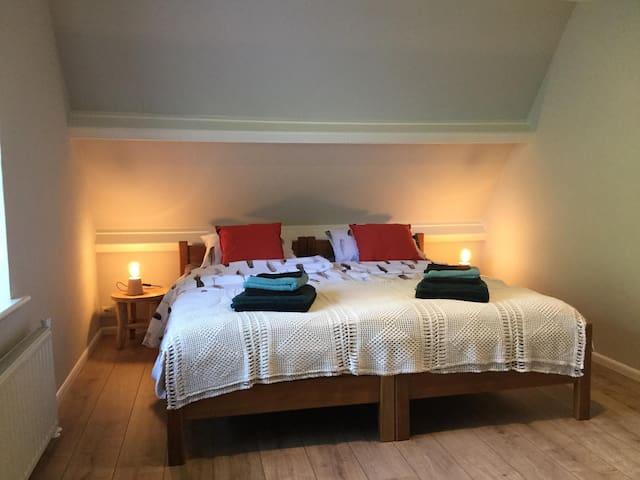 Slaapkamer 1 ( hoofdslaapkamer)