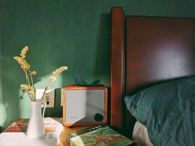 【旅人】【复古绿】设计师的家/近清华北大、园明圆、中关村 /五道口地铁300米
