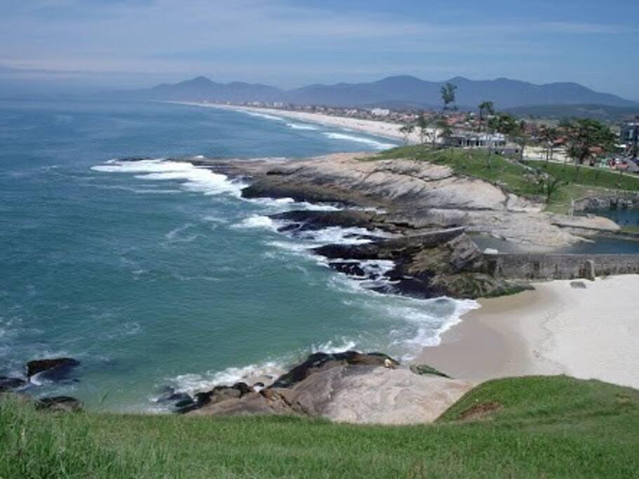 Visual da Praia de Saquarema