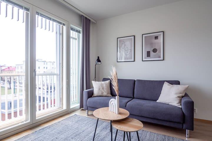 New 1BR Apartment @ Marskinpuisto / 3rd floor