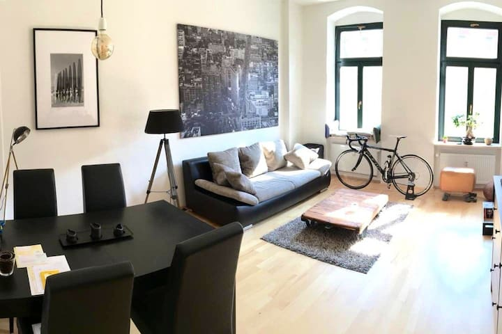 Stylisches & Chill Apartment im Zentrum w/ Netflix