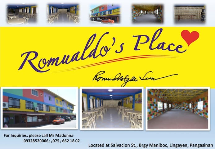 Romualdo's Place - Lingayen - Appartement