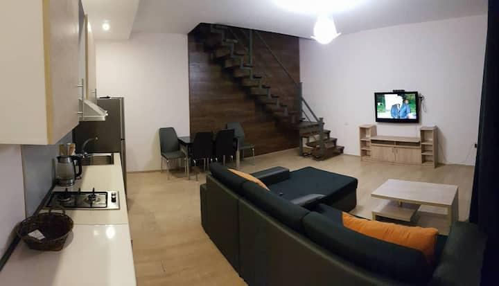 3 room duplex apartment in Bakuriani