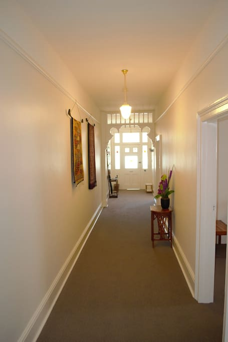 Hallway looking towards front door