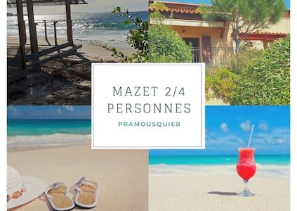 """Mazet """"Jasmin"""" -  Vue mer 2/4 personnes"""