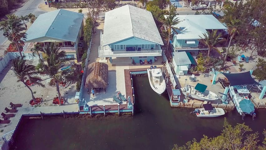 Key Largo Retreat, ocean side canal front/dock