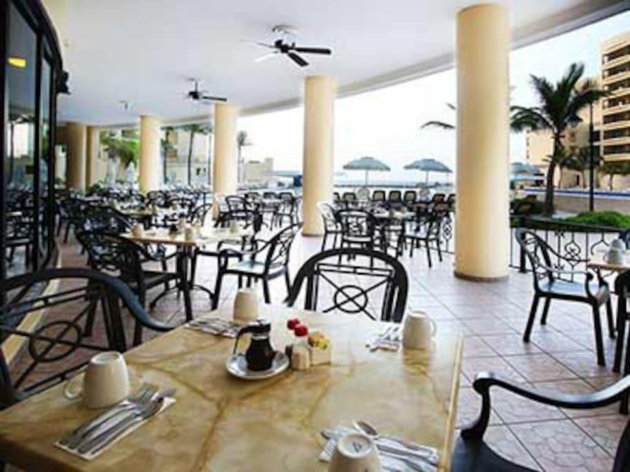Restaurant of the Hotel