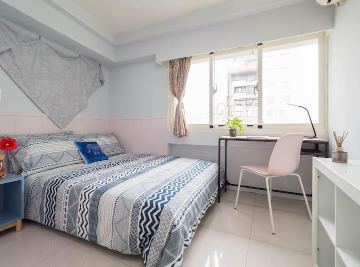 Cozy apartment near Gongguan station 5mins MRT