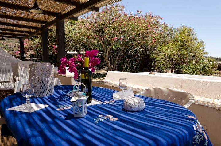 Pantelleria Dammuso Rosamarina selvatica