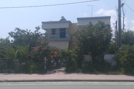 Studio apartments in Velika Beach,Larissa
