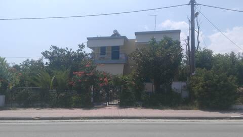 Studio apartments in Velika Beach,Larissa