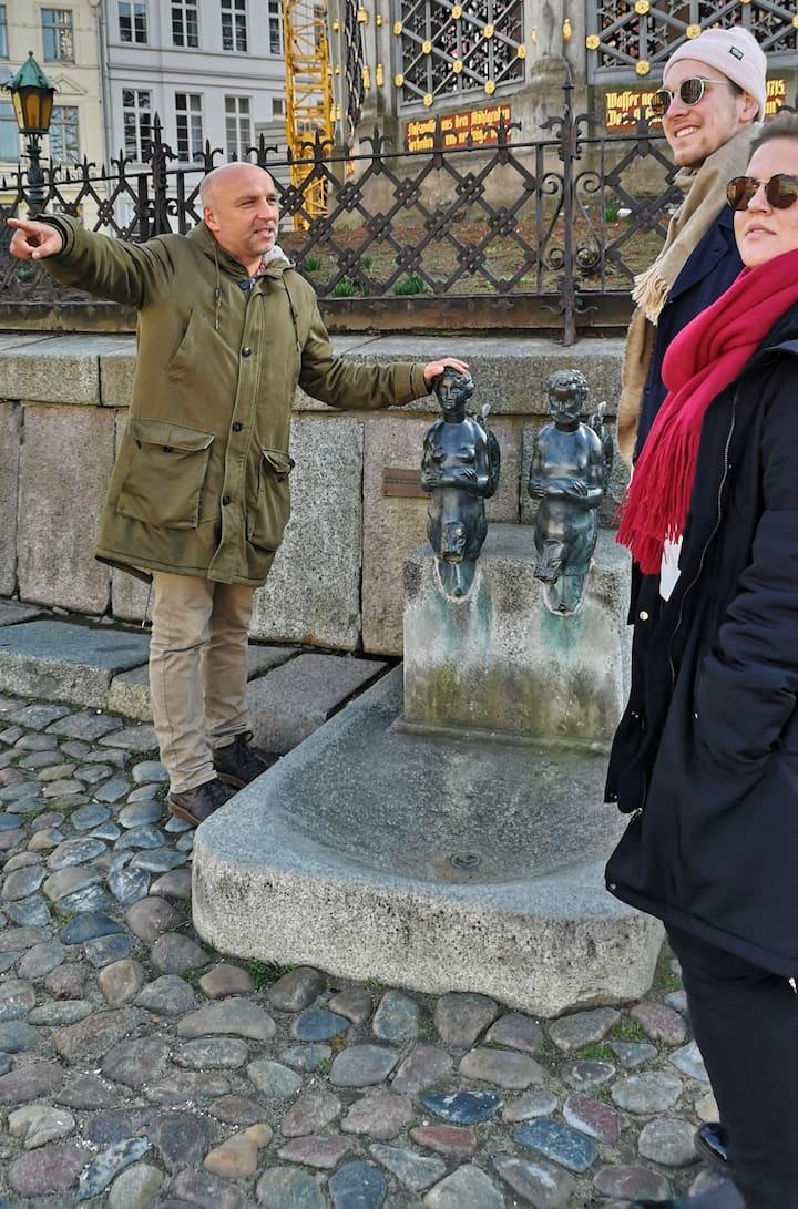 Das Wasserverteilungssytem der Schweden