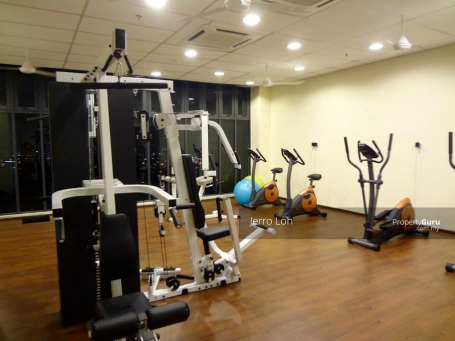 Workout place for gymn lovers.