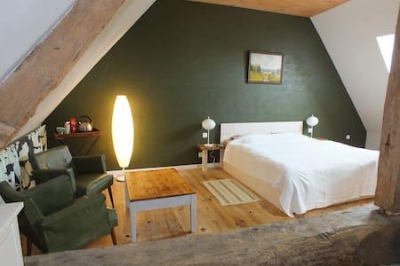 Chambre verte - Argenton-sur-Creuse - 独立屋