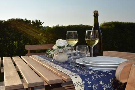 Bilocale in Franciacorta con giardino