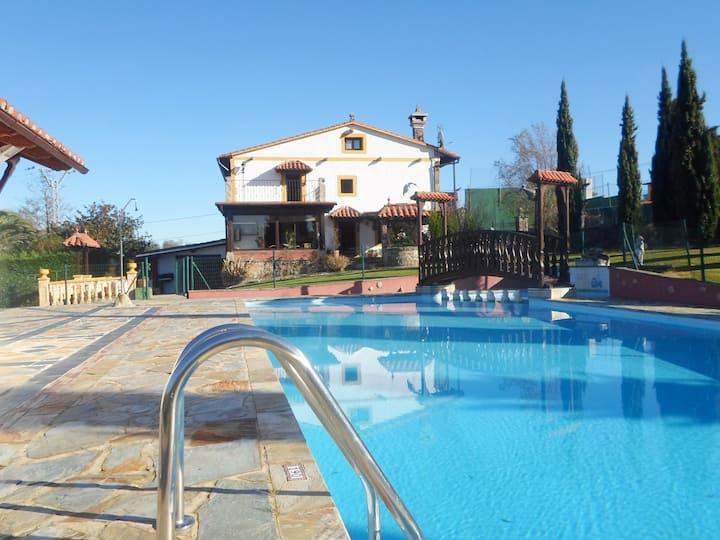 Casa El Molino - Piscina, Tenis, Barbacoa..Jardin