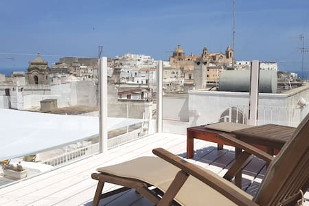 Chic Home, steps 2 old town, stunning rooftop view