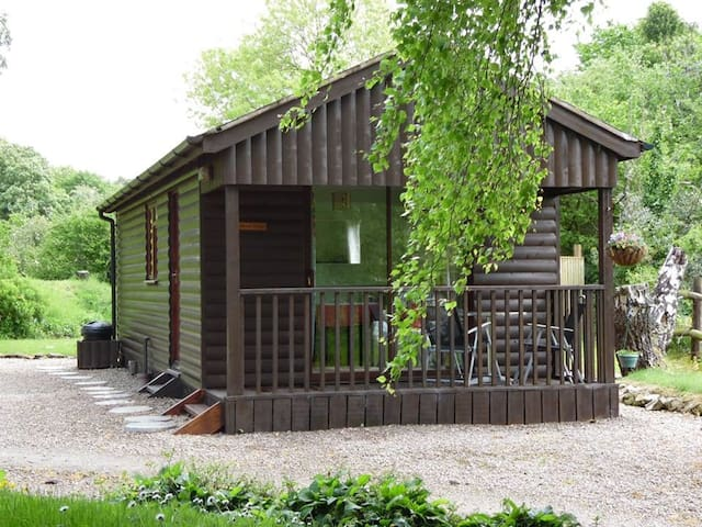 Cosy Woodland Log Cabin for 2