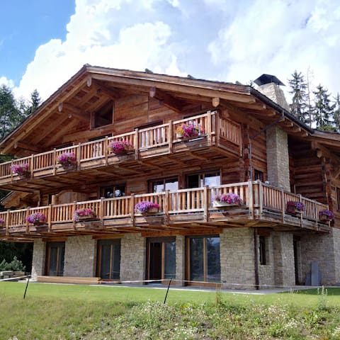 Newly built Chalet with a traditional feel - Montana - Leilighet