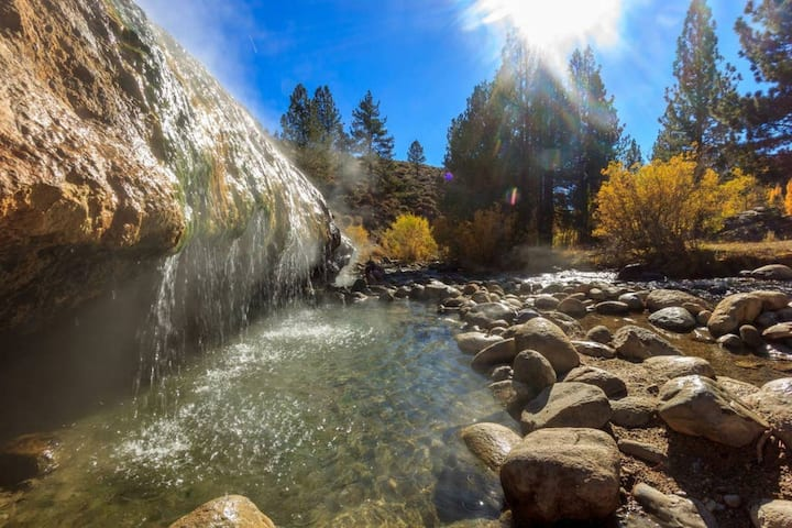 WWM 5* · Swim, fish, hike++ the Eastern Sierras WWM 5
