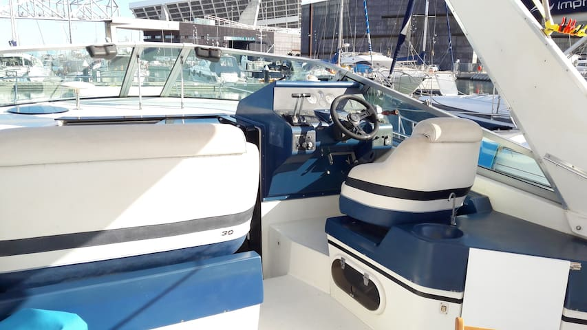 *Living on a boat experience in Port Forum in BCN*