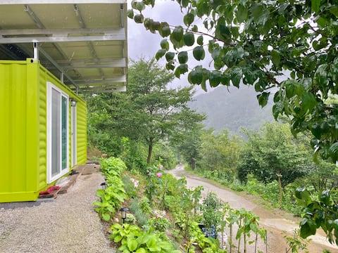 [영이네민박] 연두방 🌳 한적한 마을의 시골집, 장수군 숲속 농가민박