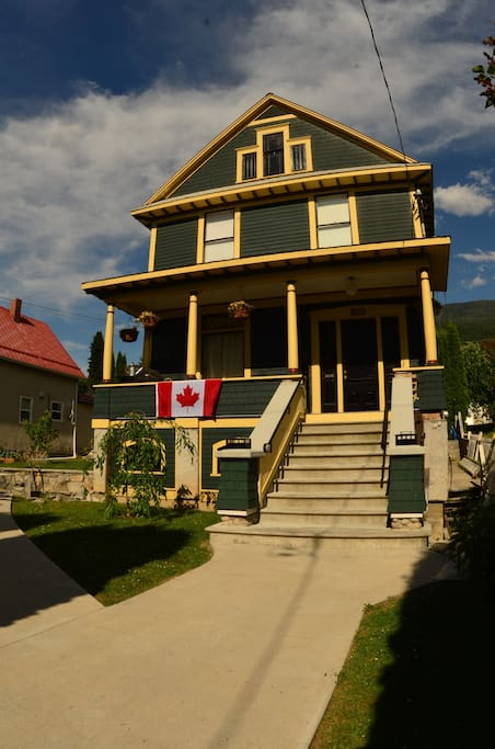 Our House on Canada Day