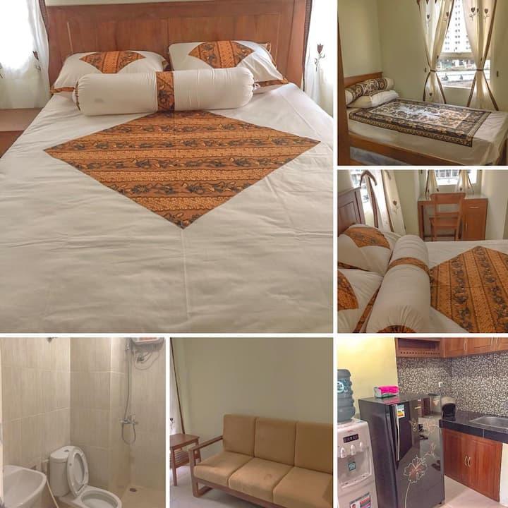 Cozy Javanese Feels Apartment in Yogyakarta 2BR