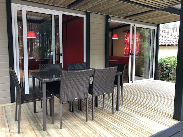Chalet 3 chambre 6pers s