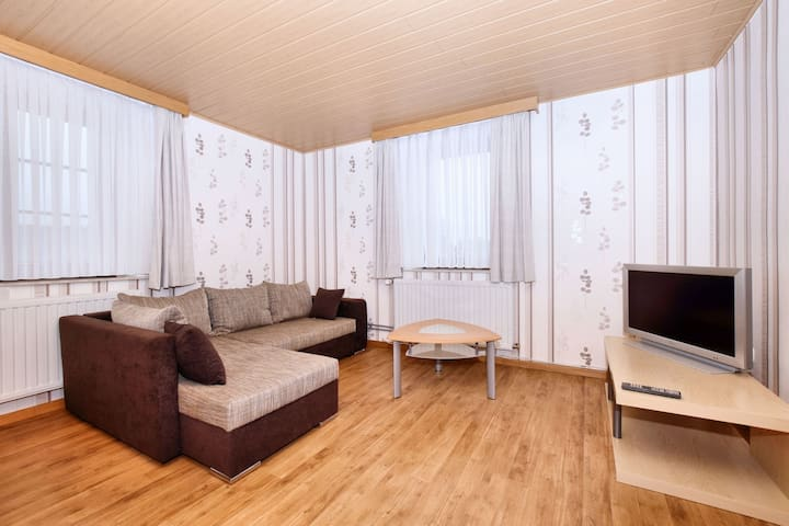 Cosy Apartment in Born (Amel) with Terrace and Garden