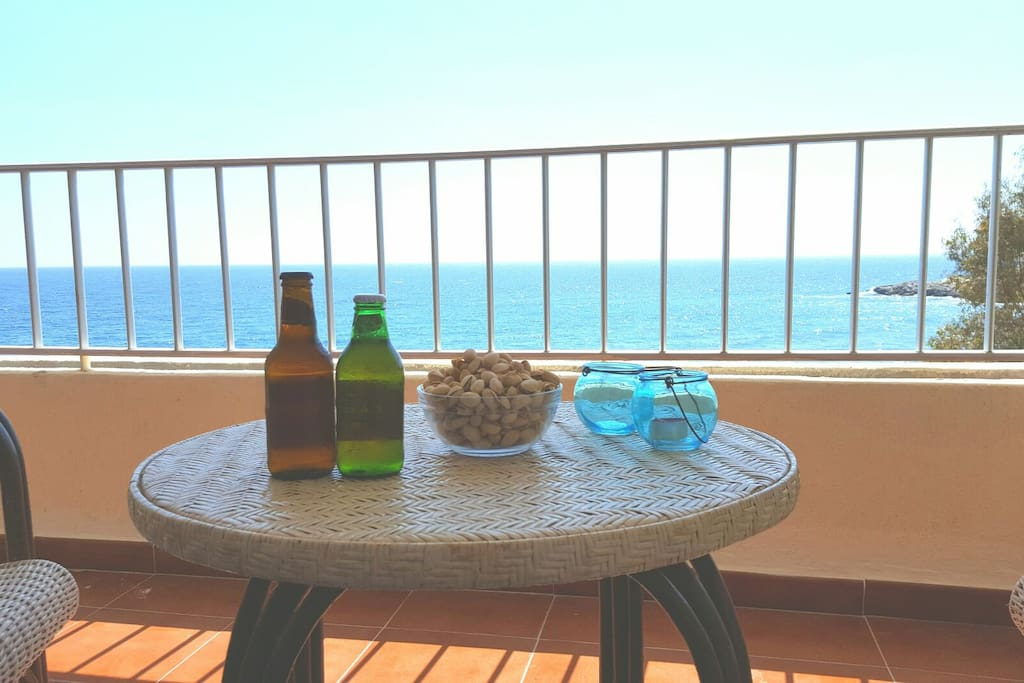 Have a beer or wine and relax!!