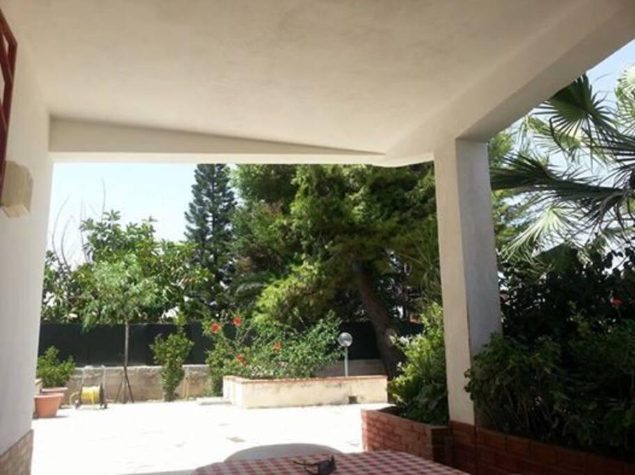 giardino veranda