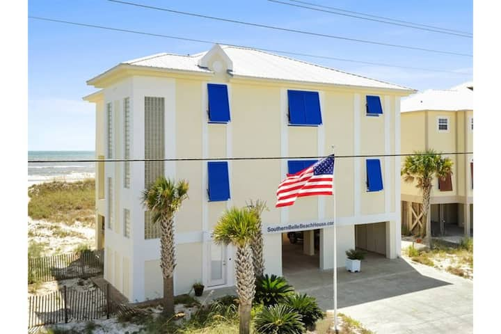 Southern Belle by Meyer Vacation Rentals 6 Bedroom 4.5 Bath Sleeps 24