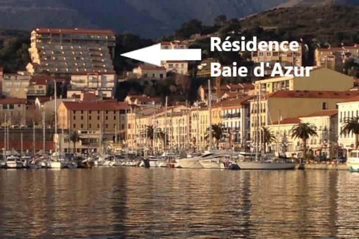 Résidence Baie d'Azur F2 terrasse véranda