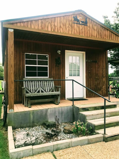 Relax on a ranch at the MK Bunkhouse!