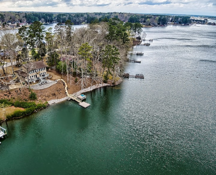 Lakefront home on Lake Murray with private dock