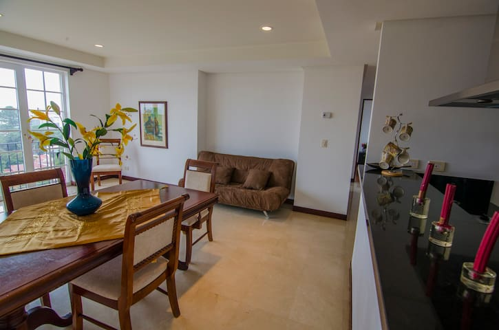 Luxurious Two Bedroom Apartment In Escazu Flats For Rent