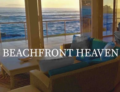 BEACHFRONT HEAVEN  on the ocean