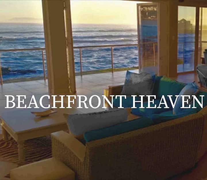 BEACHFRONT HEAVEN  on the ocean