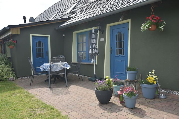 Appartement luxueux avec grande pelouse à Garz