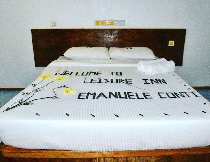 Bed and breakfast,free WiFi,free snorkeling equip
