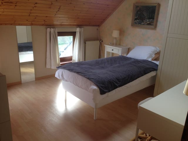 Brigth and friendly single room - Ottignies-Louvain-la-Neuve - House
