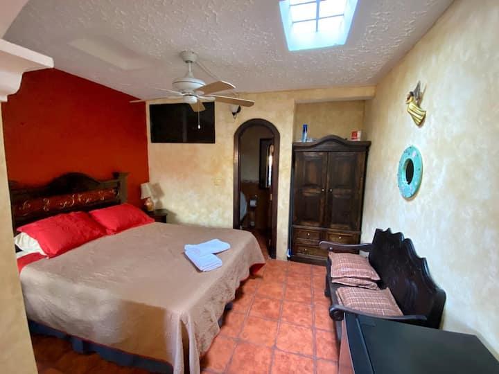 Acogedor apartamento en el centro de la Antigua