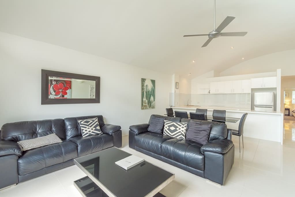 River Front Unit Living/Dining