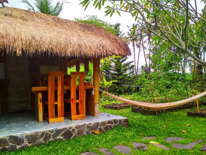 House Eco-paradise.  Feel the real Bali. 2br.