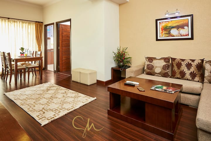 Top floor 2BHK with elevator @Patan by Suite Homes