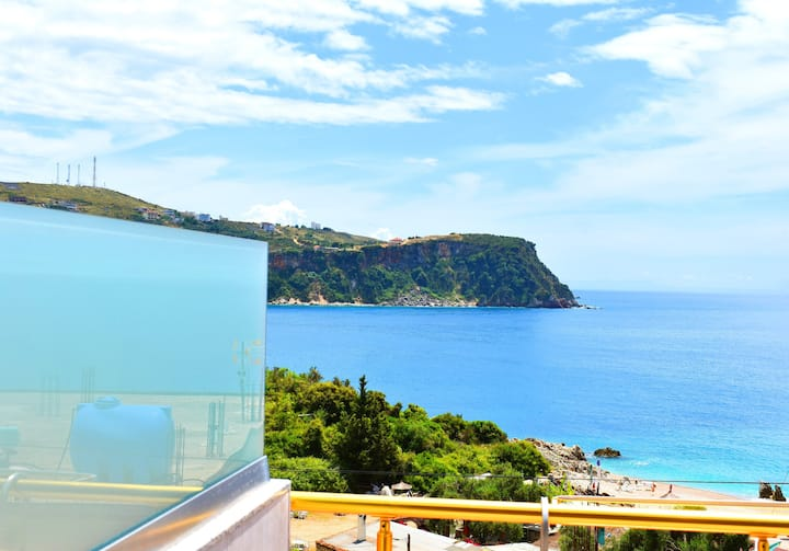 Ionio Room- Deluxe Double Room with Sea View
