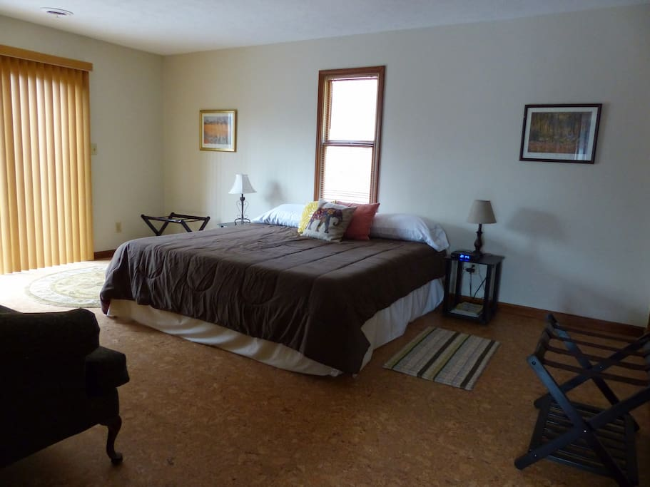 The King of the Iron Mountain suite offers ample space.