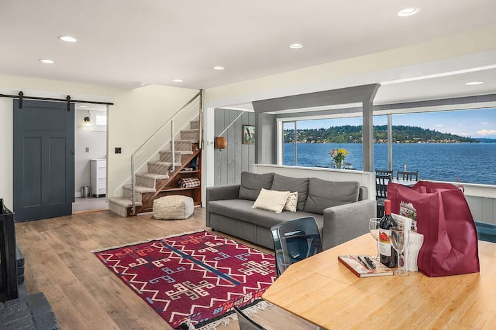 Seattle Vacation Home: Rainier waterfront home - Great Location | Amazing Views!