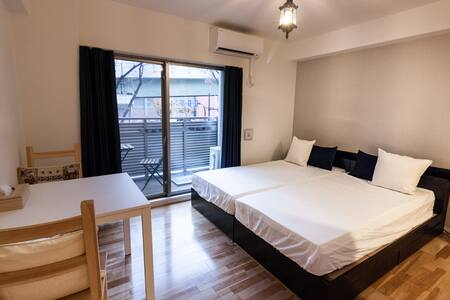 Outstanding loction cozy studio 8mins to Dotonbori - chuo-ku Osaka-shi - Wohnung